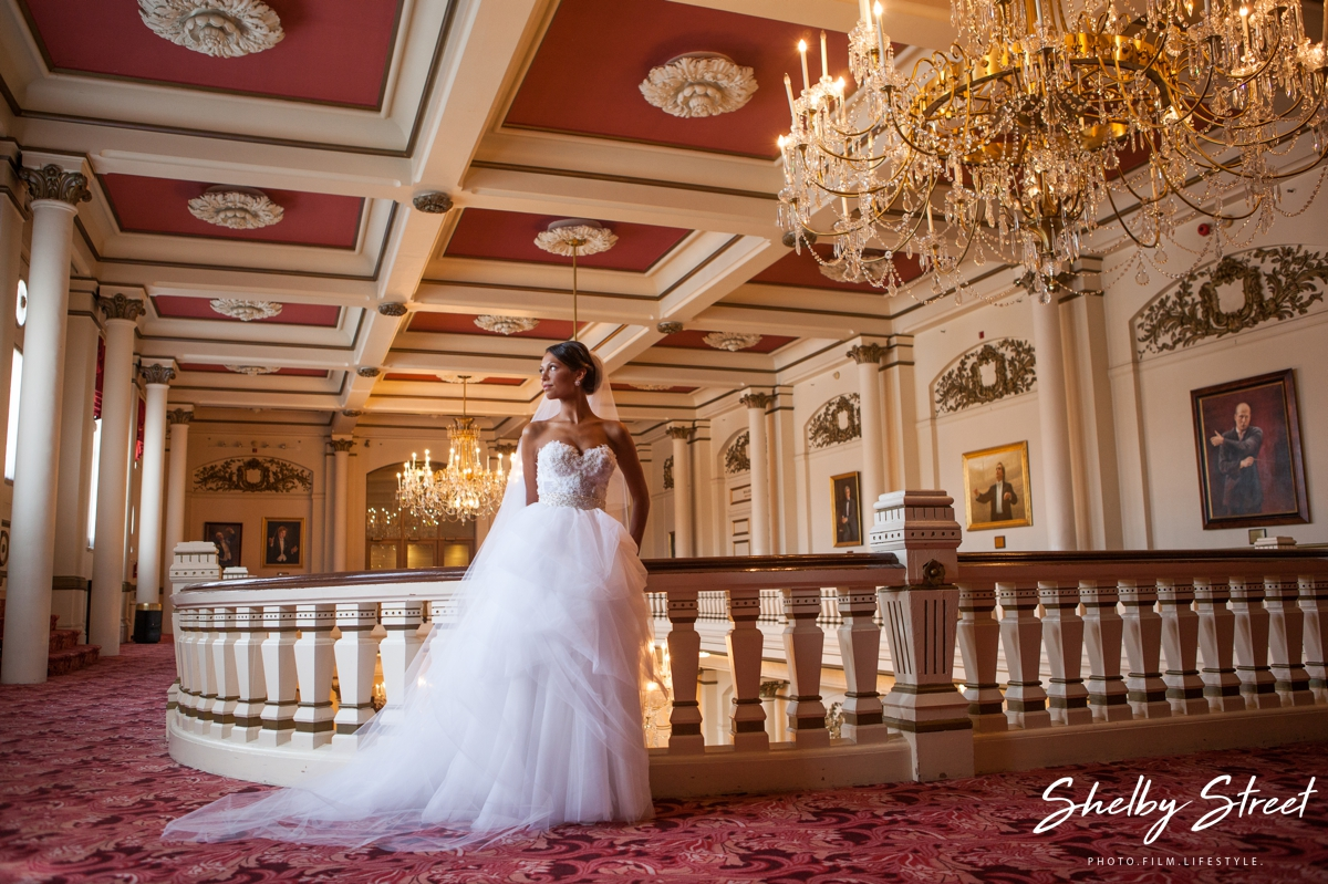 Cincinnati Music Hall Wedding Christina Evan